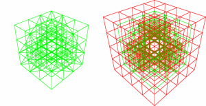 7: The Dualgrid of the quarter sphere so far