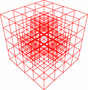 5: The Octree of a quarter sphere being in the corner