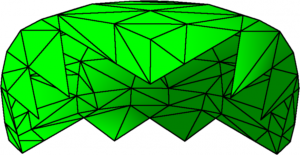 2: Marching Squares Skirts of a sphere chunk
